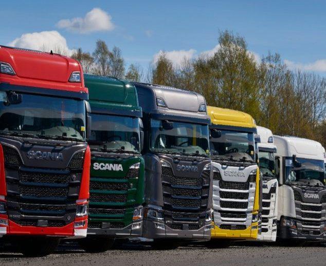 Линейки кабин Scania
